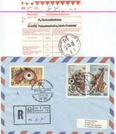 CANADA Registered Cover With Olympic Label Lieu Venue 6 With Olympic Cancel Archery Joliette With Receipt - Summer 1976: Montreal