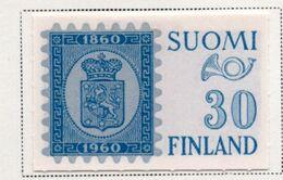 1959/60 - FINLANDIA - Mi. Nr. 516 - LH -  (UP.70.50) - Nuovi
