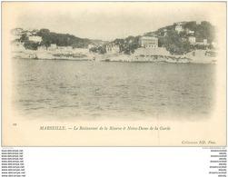 13 MARSEILLE. Carte Pionnière 1900 Restaurant Réserve Et Notre Dame Garde - Marseille
