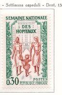 PIA - FRA - 1962 :  Settimana Nazionale Degli Ospedali - (Yv  1339) - Francia