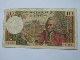 10 Dix Francs VOLTAIRE 8-5-1969   **** EN ACHAT IMMEDIAT **** - 10 F 1963-1973 ''Voltaire''