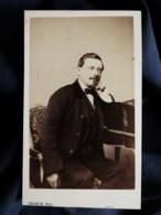 Photo Cdv Franck à Paris - Second Empire, Mr Millet Inspecteur Des Forêts, Circa 1865-70 L514 - Photos