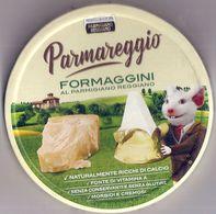 PARMAREGGIO FORMAGGINI CONFEZIONE CARTONE ETICHETTA ITALY - Käse