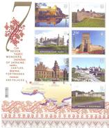 2012. Ukraine,  Seven Miracles Of Ukraine, S/s, Mich.103, Mint/** - Ukraine