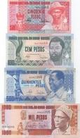 Guiné-Bissau : Série De 4 Billets UNC 50 + 100 + 500 + 1000 Pesos 1990/1993 - Guinee-Bissau