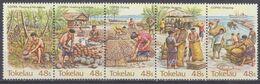 1984Tokelau96-100stripAgricultural Industry - Tokelau