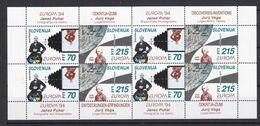 Europa-CEPT- Slowenien - 1994 - Michel Nr. 80/81 - Klb. - Postfrisch - 30 Euro - Europa-CEPT