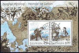 Denmark #  From 2004 STAMPWORLD 1368-69 - Usati