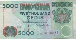 Ghana : 5000 Cedis 2000 (très Bon état) - Ghana