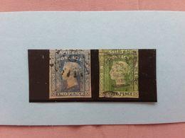 NUOVO GALLES DEL SUD 1851-54 - Regina Vittoria - Non Dentellati - Timbrati + Spese Postali - Regionali