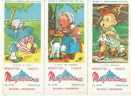 Buvards - Biscottes - Toasts - Magdeleine Granville - Série  Contines Par Jeb - Biscotti