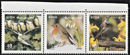 1995 Syria Songbirds Set (** / MNH / UMM) - Songbirds & Tree Dwellers