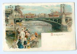 U947/ Berlin  Jannowitzer Brücke  Schöne Litho AK Ca.1900 - Deutschland