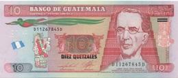 Guatemala : 10 Quetzales UNC - Guatemala