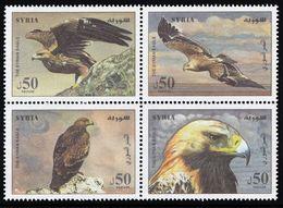2012 Syria Golden Eagle Set (** / MNH / UMM) - Eagles & Birds Of Prey