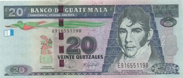 Guatemala : 20 Quetzales 2008 UNC - Guatemala