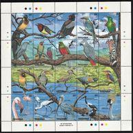 1989 Tanzania Birds Minisheet And Souvenir Sheets (** / MNH / UMM) - Birds