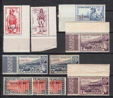 ININI  NEUFS MNH ** Série 1941 1944    Cote 20€ Guyane - Unused Stamps