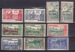 ININI  NEUFS MNH **  1939    Cote 22€ Guyane - Unused Stamps