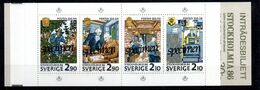 H1-17 Carnet SPECIMEN ** Complet De Suède - Boekjes