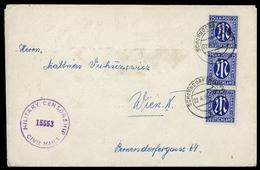 1945, Bizone, 9 (3), Brief - Zona Anglo-Americana