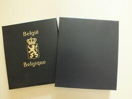 TIMBRE BELGIQUE 1970-1984 NEUF** ALBUM DAVO LUXE AVEC ETUI (Avec Variétés) - Belgium