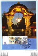 BUND BRD FRG GERMANY - MK MC Maximum Card 24-1994 FDC ---1735 Aus Block 28 Hagenbeck Zoo Tiere   (09890) - [7] Federal Republic