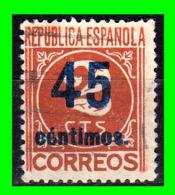 CIFRAS SELLO AÑOS 1936 REPUBLICA ESPAÑOLA INFRAVALORADOS - 1931-50 Usati