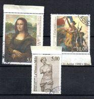 H1-17 France Oblitéré N° 3234 à 3236 - Oblitérés
