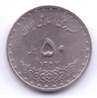 IRAN 1998: 50 Rials, 1377, KM 1260 - Irán