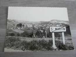 SAINT-MARTIN-DE-LENNE - 1971 - EDITIONS CAUJOLLE - - Altri Comuni