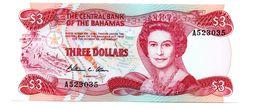 BAHAMA'S 3 DOLLAR PICK 44 UNCIRCULATED - Bahamas