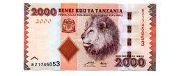 TANZANIA 2000 SHILLINGS PICK 42a UNCIRCULATED - Tanzania