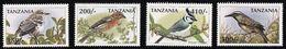 1997 Tanzania Birds Of The World Set, Minisheets And Souvenir Sheets (** / MNH / UMM) - Birds