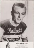COUREUR CYCLISTE JEAN GRACZYK CYCLES HELYETT  TBE - Cyclisme