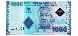 TANZANIA 1000 SHILLINGS PICK 41a UNCIRCULATED - Tanzania