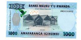 RWANDA 1000 FRANCS PICK 31 UNCIRCULATED - Rwanda
