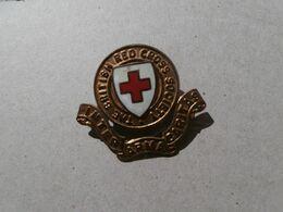 British Red Cross Society Badge Pin - Vintage - Croix Rouge Britannique - Medical & Dental Equipment