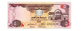 UNITED ARAB EMIRATES FIVE DIRHAMS PICK 27 UNCIRCULATED - Ver. Arab. Emirate