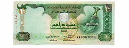 UNITED ARAB EMIRATES TEN DIRHAMS PICK 27 UNCIRCULATED - Ver. Arab. Emirate