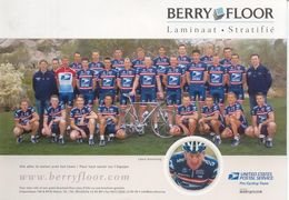 Cyclisme, Groupe US Postal-Berry Floor 2004, Format 21 X 15 Cm - Radsport