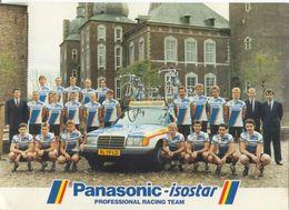 Cyclisme, Groupe Panasonic 1988, Format 21 X 15 Cm - Radsport