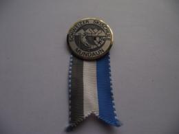 Switzerland Suisse Schweiz - Mundaun - Surselva - Ski School Schweizer Skischule Medal - Badge Ø 35 Mm - Wintersport