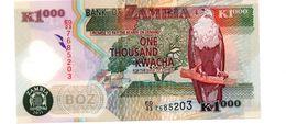 ZAMBIA 1.000 KWACHA  PICK 44h UNCIRCULATED POLYMEER - Zambia