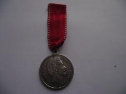 Germany Deutschland - Ludwig II Koenig Von Bayern Bavaria - 1845 - 1886 Medal Medalie Medaille Ø 38 Mm - Monarchia/ Nobiltà