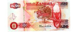 ZAMBIA 50 KWACHA  PICK 37g UNCIRCULATED - Zambia