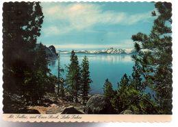 REF 504 CPSM U.S.A. Nevada Cave Rock Lake Tahoe - Etats-Unis