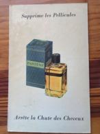 Plaque Publicitaire Carton Années 50     PANTENE BLEU Supprime Les Pellicules - Parfumerie    21.5 X 33.5 - Plaques En Carton