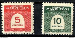 MARRUECOS **382/3 Nuevo Sin Charnela. - Maroc Espagnol