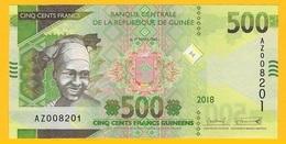 Guinea 500 Francs P-new 2018(2019) REPLACEMENT UNC Banknote - Guinée